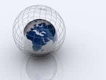 Planeet 5 van de aarde Royalty-vrije Stock Foto