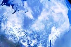 Planeet aarde-mooie mening van ruimte stock videobeelden