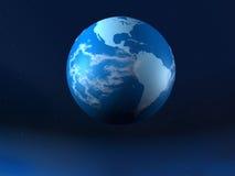 Planeet de aarde stock illustratie