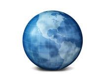 Planeet de aarde vector illustratie