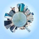 Planeet de Stad van Manhattan, New York. De V.S. Royalty-vrije Stock Foto's