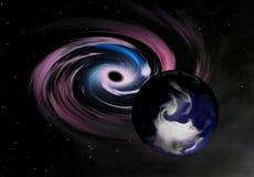 Planeet in Gevaar vector illustratie