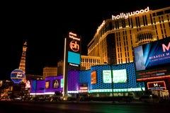 Planeet Hollywood en het Hotel van Parijs Royalty-vrije Stock Afbeeldingen