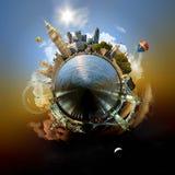 Planeet Londen Stock Foto's