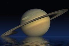Planeet Saturn stock illustratie