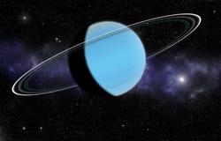 Planeet Uranus stock illustratie