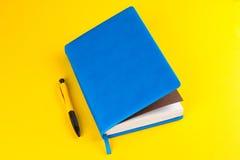 Planejador diário com endereços da Internet coloridos Fotos de Stock Royalty Free