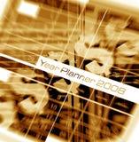 Planejador do ano Foto de Stock