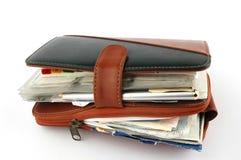 Planejador do dia. Imagens de Stock