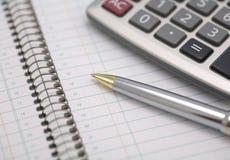 Planejador do negócio com calendário Foto de Stock