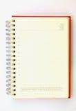 Planejador em branco Imagens de Stock