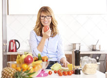 Planendes tägliches Menü für Ihre Familie Lizenzfreie Stockfotos