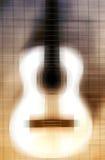 Gitarrabstrakt begrepp arkivbild