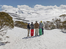 Planera en Ski Trip Royaltyfri Foto