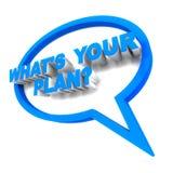 Planera, vad är din royaltyfri illustrationer