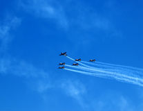 Planes 1. Planes on parade Royalty Free Stock Photography