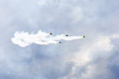 Planes acrobatic show Stock Photography