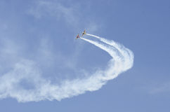 Planes acrobatics Stock Photography