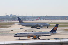 Free Planes At Frankfurt Airport Royalty Free Stock Images - 29850989