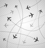 Planes background Royalty Free Stock Photos