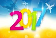 2017 planes background travel 3D design illustration. Design image vector illustration