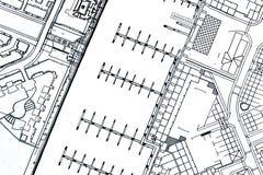 Planes del puerto deportivo Fotografía de archivo libre de regalías