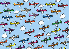 Planes stock illustration