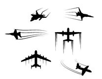 Planes and jets Royalty Free Stock Photography
