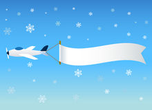 Planes with message stock illustration