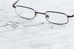 Planes para la arquitectura Imagenes de archivo