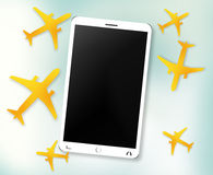 Planes Phone Royalty Free Stock Photography