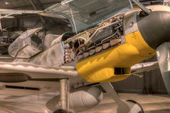 Planes at the USAF Museum, Dayton, Ohio Stock Photos