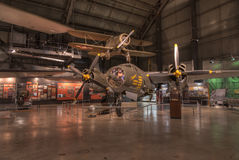 Planes at the USAF Museum, Dayton, Ohio Royalty Free Stock Image