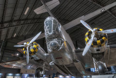 Planes at the USAF Museum, Dayton, Ohio Royalty Free Stock Photo