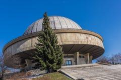 Planetário Silesian e o obervatório astronômico Imagem de Stock