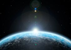 The planet Royalty Free Stock Image