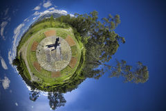 Planet 360 panorama Royalty Free Stock Photography