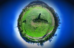 Planet 360 panorama Stock Photos