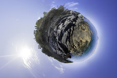 Planet Adria Royalty Free Stock Photography