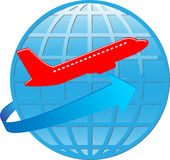Planet and air Royalty Free Stock Photo