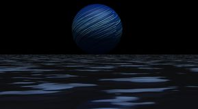 Planet blue Royalty Free Stock Photo