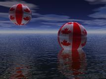 Planet Canada Royalty Free Stock Photos