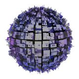 Planet city Royalty Free Stock Photography