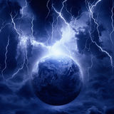 Planet in danger Royalty Free Stock Photos