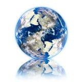 Planet der Erde 3d Stockfotografie