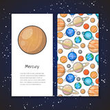 Planet design template Royalty Free Stock Photo
