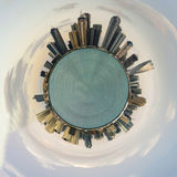Planet Dubai Stockfoto