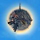 Planet Dubai Stockbild