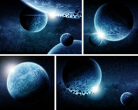 Planet Eart Apocalypse pack Royalty Free Stock Photos
