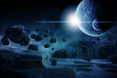 Planet Eart Apocalypseabbildung Lizenzfreie Stockbilder